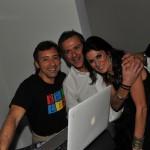 Disma Patorno, Marcello Inga e Valeria Trapani