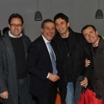 Marco D'Alia, Marcello Inga, Giuseppe Guttadauro e Massimiliano Bottone