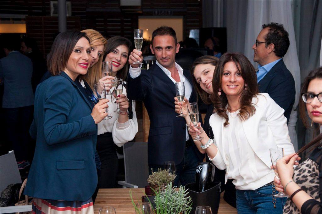 Marzia Di Gaetano, Debora Ragusa, Chiara Nicosia, Stefano Scalia, Milvia Averna e Sara Guercio