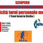 Il personale mobile di Trenitalia sciopera per 24 ore contro i silenzi dell'azienda