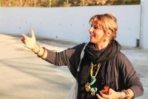 L'artista Antonietta Filangeri ideatrice di Marevigliosamente Tusa