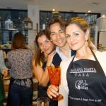 Valentina Virga, Simone Aiello e Chiara Battaglia