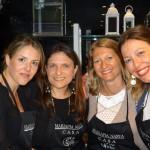 Fresia Colajanni, Milvia Averna, Alessandra Papè e Teresa Salamone
