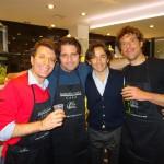 Toi Moncada, Simone Aiello e Riccardo Lo Cascio