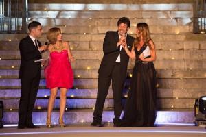I presentatori Vincenzo Canzone, Monia Arizzi, Filippo Marsala e Cinzia Gizzi_ph Dario Mentesana