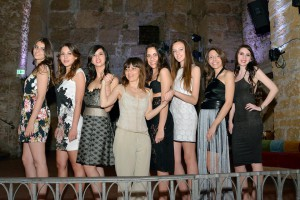 Le modelle con Tiziana Di Pasquale (Foto di Peppe Volpes)