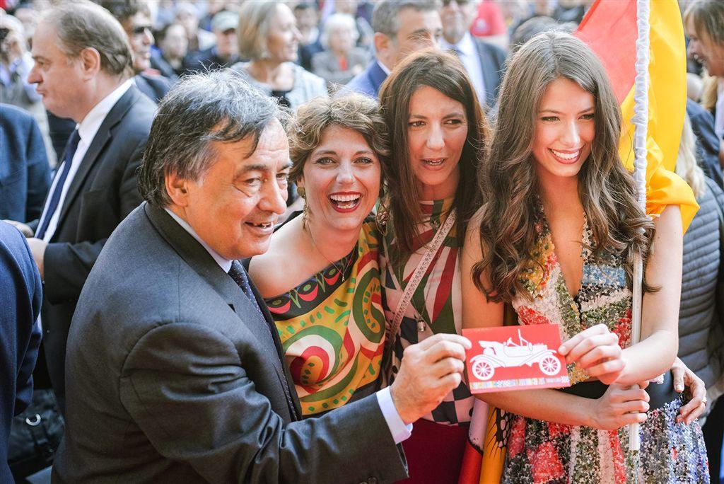 Leoluca Orlando, Adriana Trapassi, Paola Savona, Federica Lazzara
