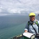 Venuta in bici dal Friuli per recarsi a Lampedusa, Mila Brollo a Palermo