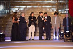 Sergio Giussani, produttore Boris Giuliano riceve il Glam Awards