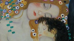klimt__mother_and_child
