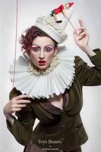 "ph Raffaele Rinaldi ""Pinocchio"" model Marta Biagini"