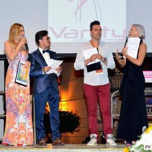 Da sinistra: Stefania Orlando, Danilo Martines,. Francesco Pampa, Vittoria Abbenante