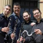 """Il """"Gershwin Sicily Clarinet Quartet"""" al Caffè del Teatro Massimo"""