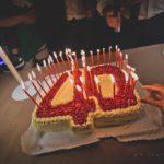 La torta dei 40 anni di Marco Martorana