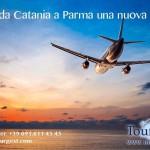 Viaggiare fra Catania e Parma è più facile, inaugurati i nuovi voli