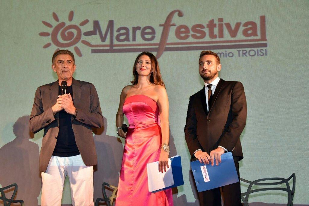 Ezio Greggio, Nadia La Malfa e Massimiliano Cavalieri