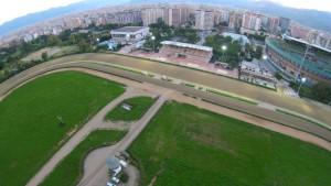 Ippodromo La Favorita Palermo visto dal drone