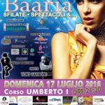 """A Bagheria, domenica 17 luglio, arriva """"Baaria"""", terza tappa di NEW MODEL TODAY"""