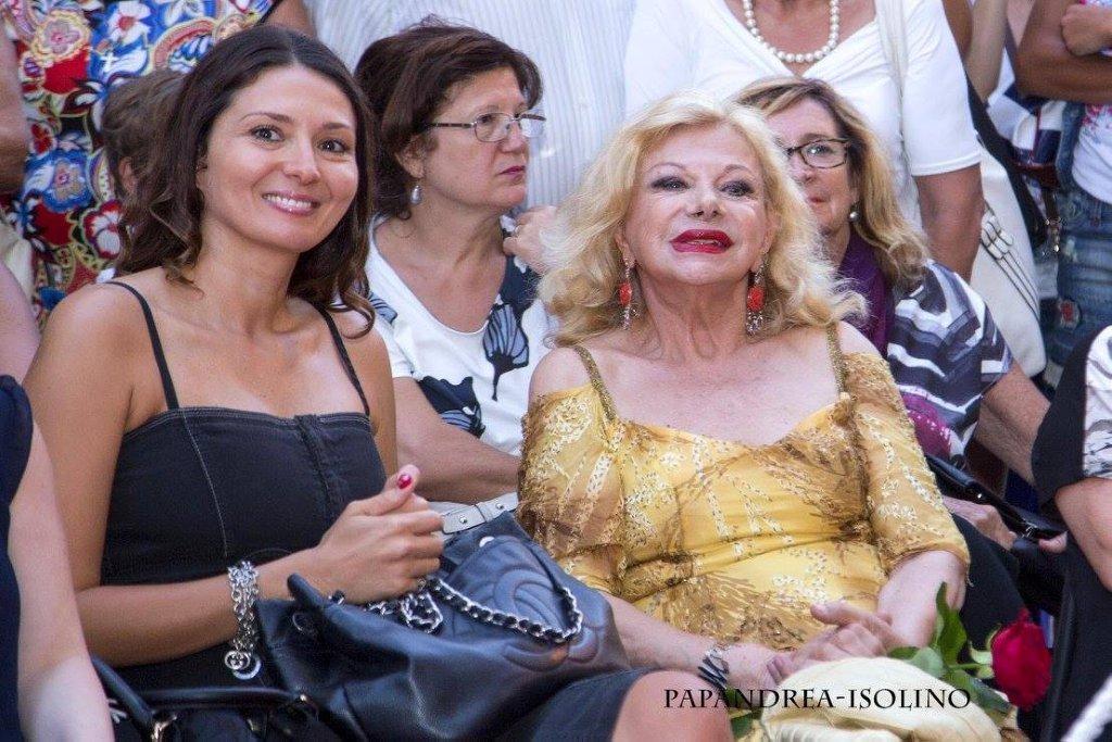 Nadia La Malfa e Sandra Milo foto di Rocco Papandrea
