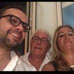 Giuliana Cusimano con Mario Scelsi e Wladimir Pantaleone