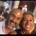 Giuliana Cusimano con Maurizio Tosi