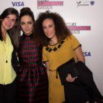 Antonella Cusimano, l'attrice Valentina Corti, e la fashion blogger Meryem Amato