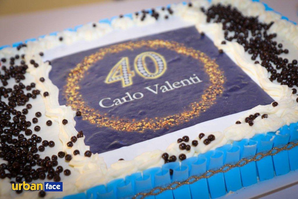 40 candeline per Carlo Valenti