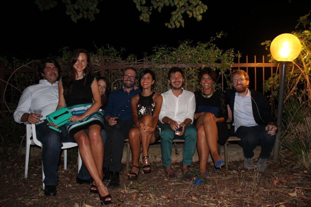 Con Sveva Alagna, Claudio Reale, Masino Lombardo, Rachele Ramo, Vassily Sortino