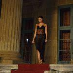 Jennifer Casa indossa un abito di Anton Giulio Grande