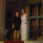 La stilista Giusi Cusimano con Nathalie Caldonazzo