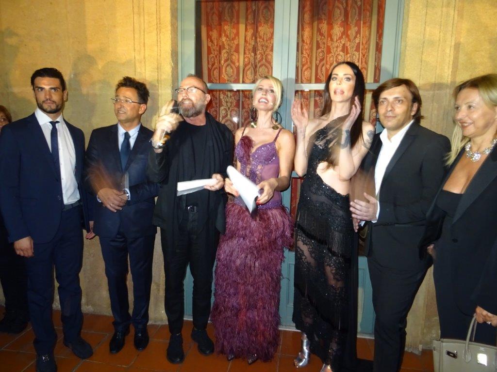 Da sinistra gli organizzatori dell'evento Antonio D'Amico e Gianpaolo Guida con gli altri ospiti