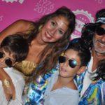 Rosa Di Stefano con Aldo, Vittorio e Nicola Farruggio