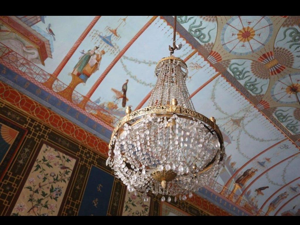 gli antichi lampadari della Casina Cinese2 PH Petyx