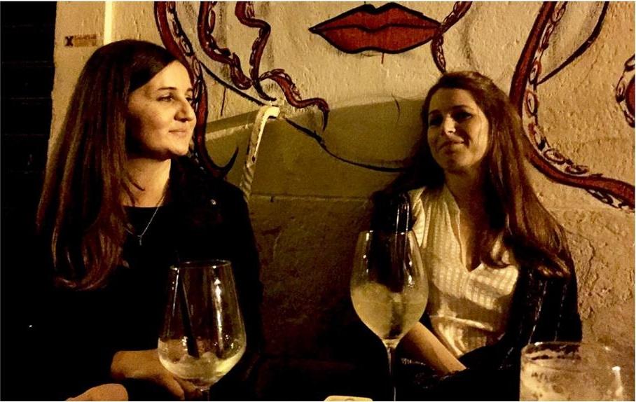 Alessia Rotolo e  Eugenia Nicolosi