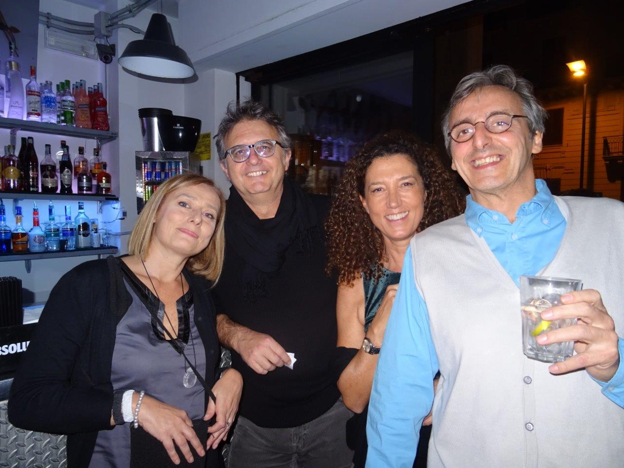Katia Di Monte, Enrico Del Mercato, Pepe Di Palma e Gianluca Borgioli