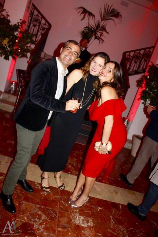 Ennio Fragano, Cristina Catino e Francesca Galli