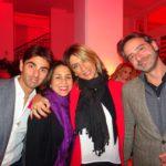 Raffaele Di Michele, Stefania Lo Bue, Claudia Castronovo e Francesco Toto Terranova