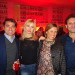 Roberto Indovina, Licia Raimondi, Anna Torres e Giuseppe Conti