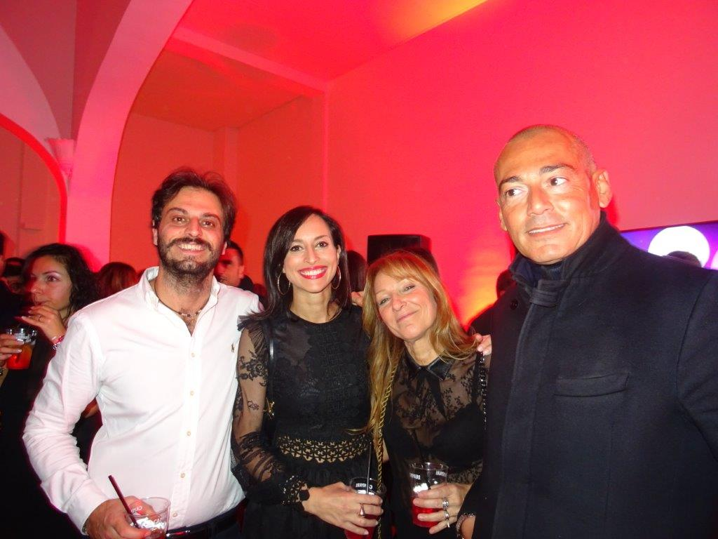 Daniele Cefalù, Laura Guttilla, Anna Cantinelli e Alessandro Martello