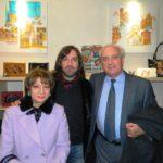 Ernesto Graditi con l'architetto Carmelo Montagna e signora