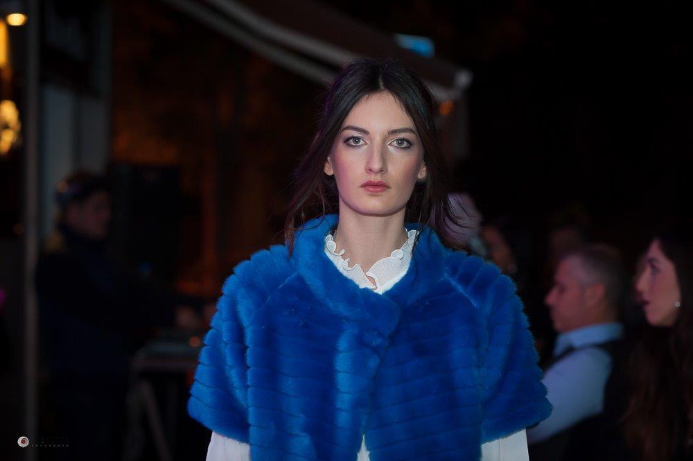 è blu elettrica la pelliccia di Quartararo Calzature