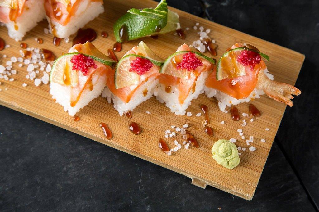 Il sushi di ISHI Spirits&Delights