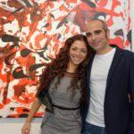 Sergio Caminita con la moglie Ambra Lo Dico