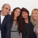 Sergio Caminita, Ambra Lo Dico, Roberta De Luca e Alba Lo Dico,