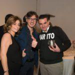 Carla Longo, Massimiliano Miceli e Vincenzo Cefalù