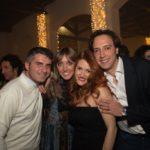 Claudio Picciotto, Beatrice Longo, Virginia Fiorella e Francesco Longo