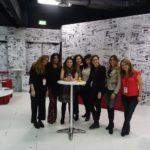 In sala stampa Francesca Gamberini,  Rosi De Simone, Milvia Averna,  Gloria Bertè, Sabrina Raccuglia, Marcella Maggi, Cinzia Gizzi e Denise Fabbrin