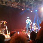 Mario Biondi durante il gala del Wella Show