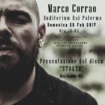 """Marco Corrao con """"Storto tour"""" in concerto all'auditorium Rai di Palermo"""
