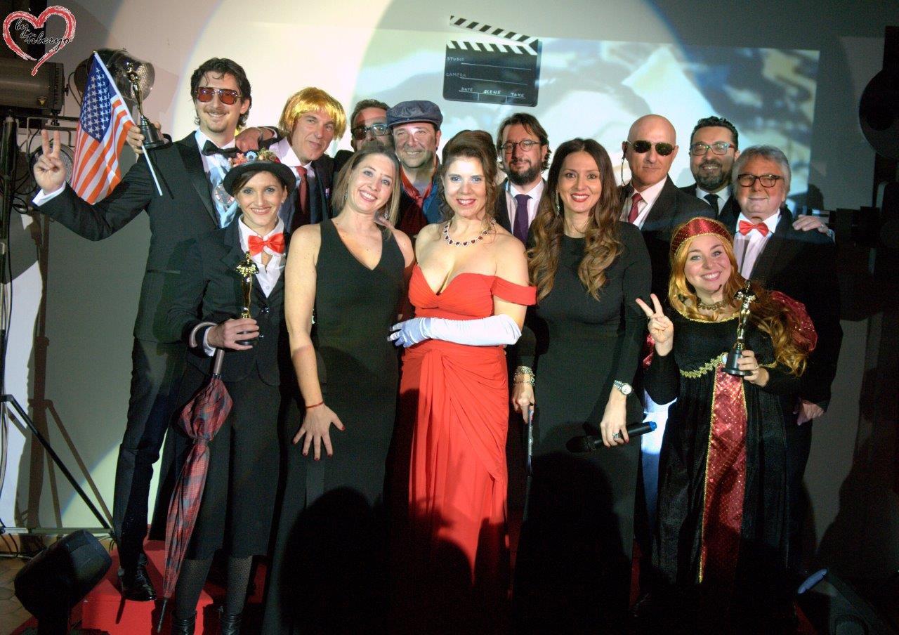 In alto si riconoscono Ugo Fecarotta, Fulvio Viviano In basso Viviana Cinque, Alice Anselmo, Nadia La Malfa e Alessia Cannizzaro